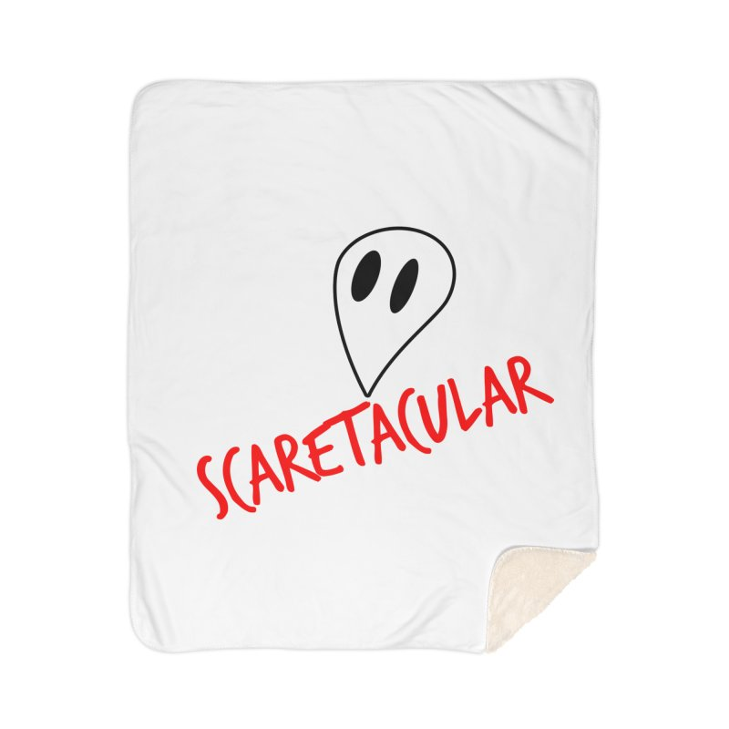 Scaretacular Home Sherpa Blanket Blanket by Magic Pixel's Artist Shop