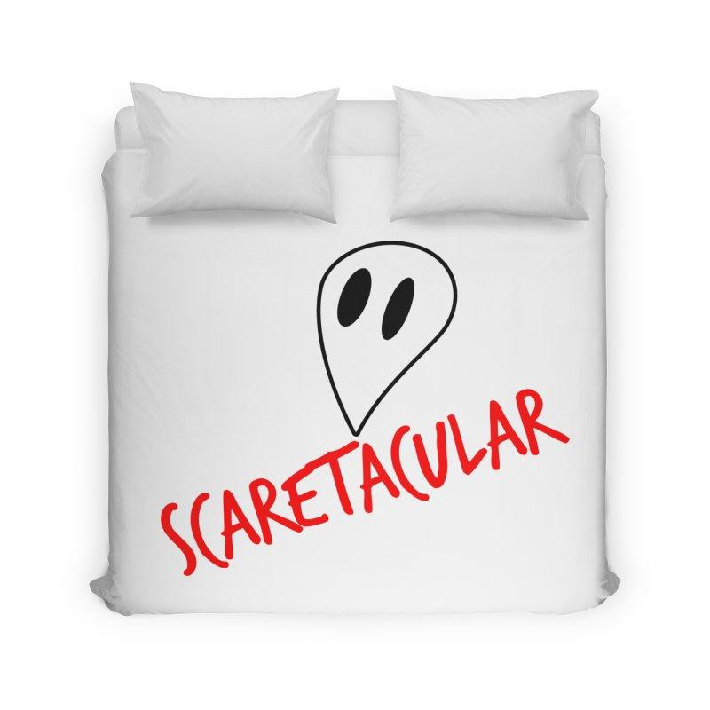 Scaretacular Home Duvet by Magic Pixel's Artist Shop