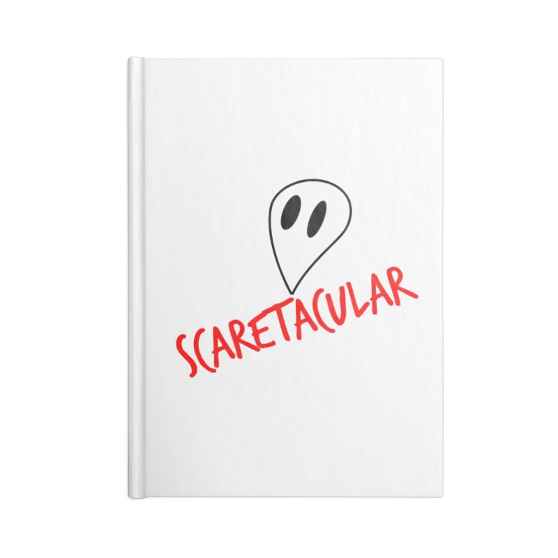 Scaretacular Accessories Lined Journal Notebook by Magic Pixel's Artist Shop