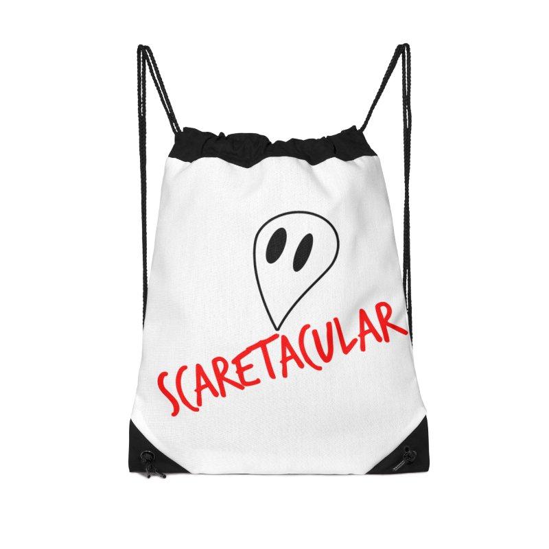 Scaretacular Accessories Drawstring Bag Bag by Magic Pixel's Artist Shop
