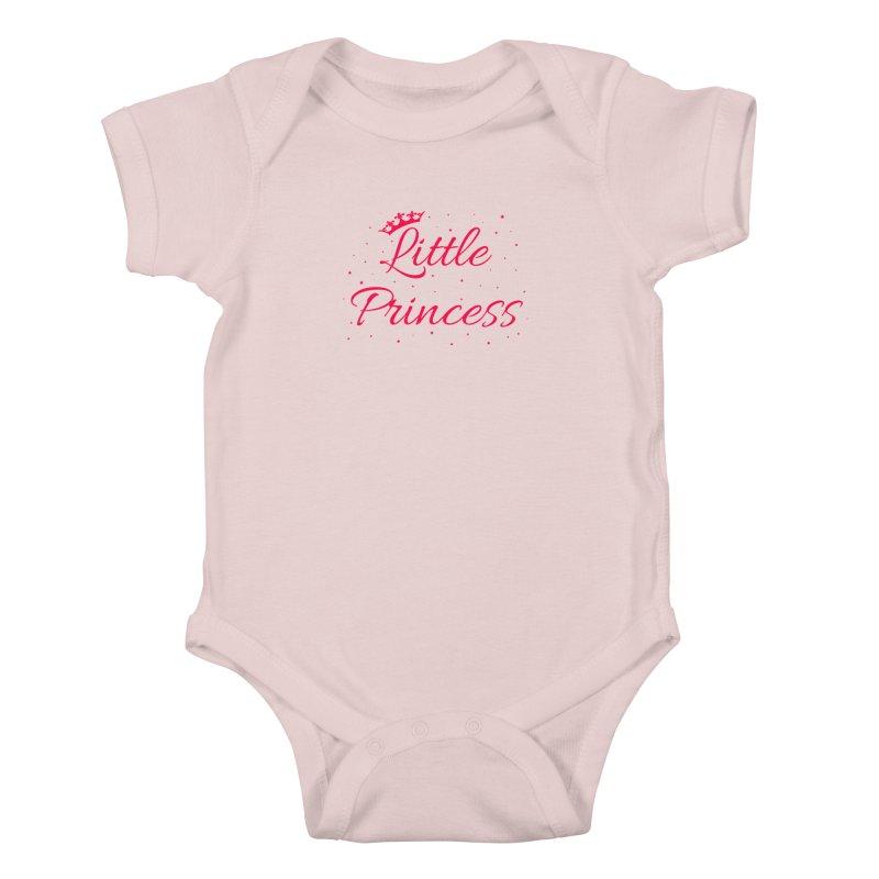 Little Princess Kids Baby Bodysuit by Magic Pixel's Artist Shop