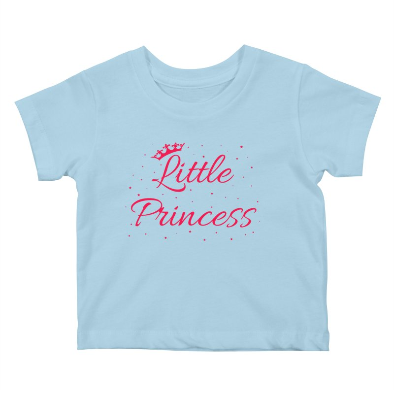 Little Princess Kids Baby T-Shirt by Magic Pixel's Artist Shop