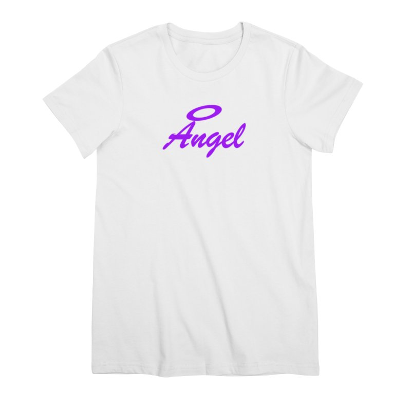 Angel Women's Premium T-Shirt by Magic Pixel's Artist Shop