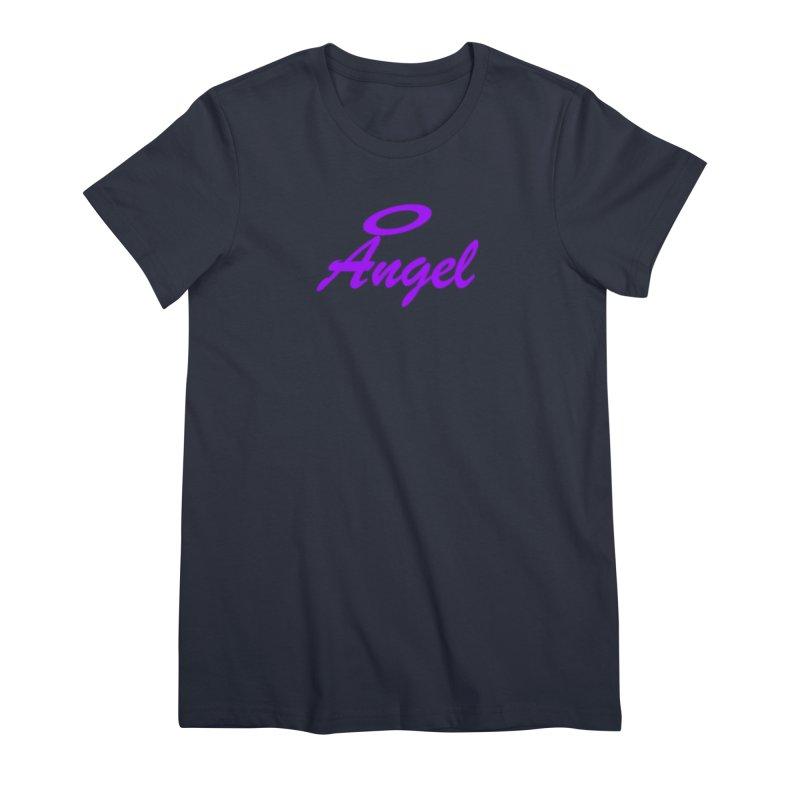 Angel Women's Premium T-Shirt by Magic Pixel's Artist Shop