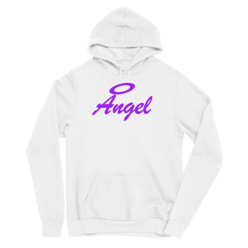 Angel Women's Sponge Fleece Pullover Hoody by Magic Pixel's Artist Shop
