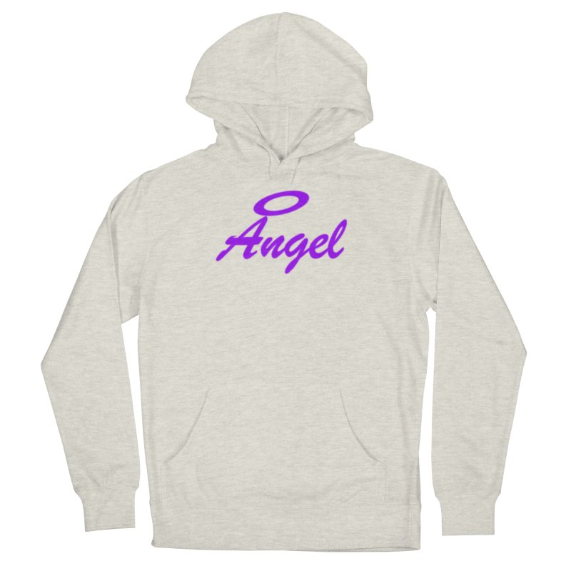 Angel Women's French Terry Pullover Hoody by Magic Pixel's Artist Shop