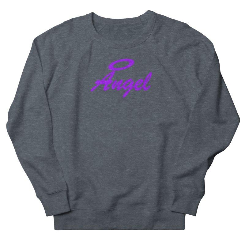 Angel Women's French Terry Sweatshirt by Magic Pixel's Artist Shop