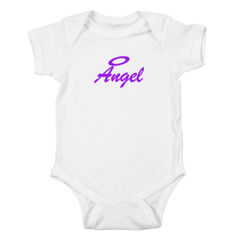 Angel Kids Baby Bodysuit by Magic Pixel's Artist Shop