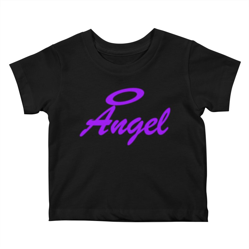 Angel Kids Baby T-Shirt by Magic Pixel's Artist Shop