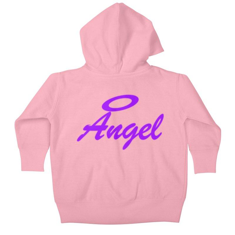 Angel Kids Baby Zip-Up Hoody by Magic Pixel's Artist Shop