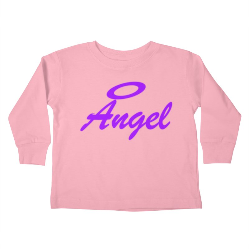 Angel Kids Toddler Longsleeve T-Shirt by Magic Pixel's Artist Shop