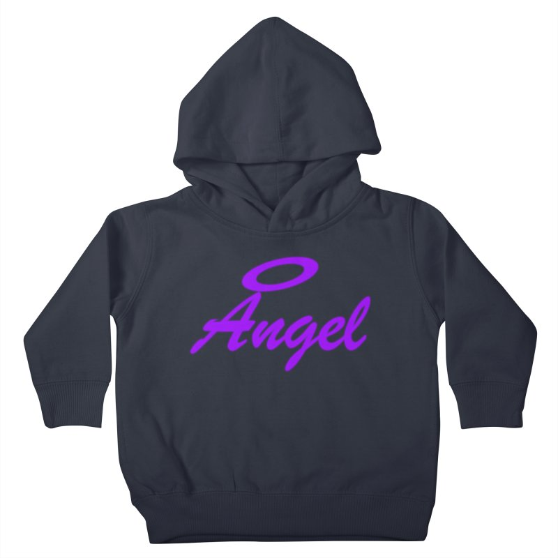 Angel Kids Toddler Pullover Hoody by Magic Pixel's Artist Shop