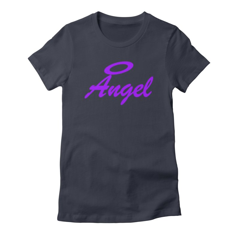 Angel Women's Fitted T-Shirt by Magic Pixel's Artist Shop