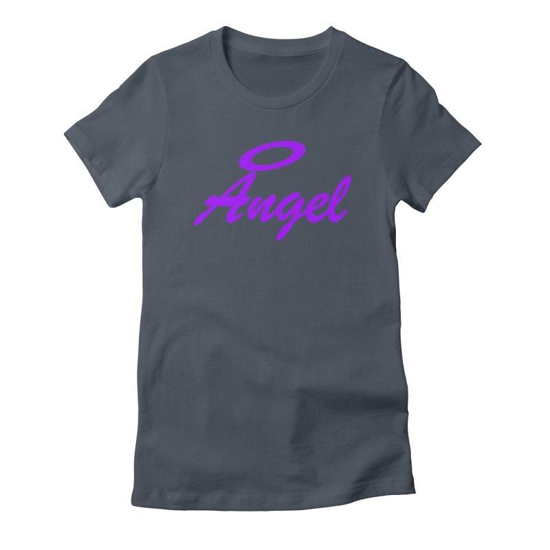 Angel Women's T-Shirt by Magic Pixel's Artist Shop
