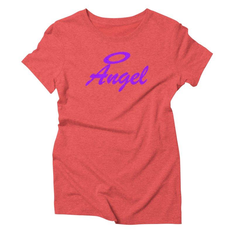 Angel Women's Triblend T-Shirt by Magic Pixel's Artist Shop