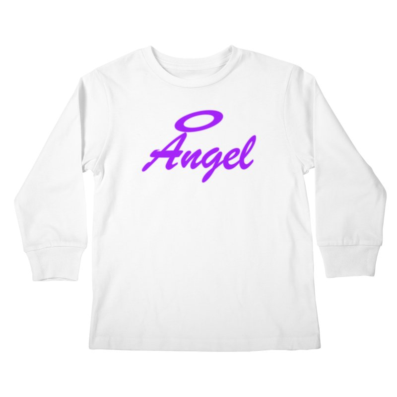 Angel Kids Longsleeve T-Shirt by Magic Pixel's Artist Shop
