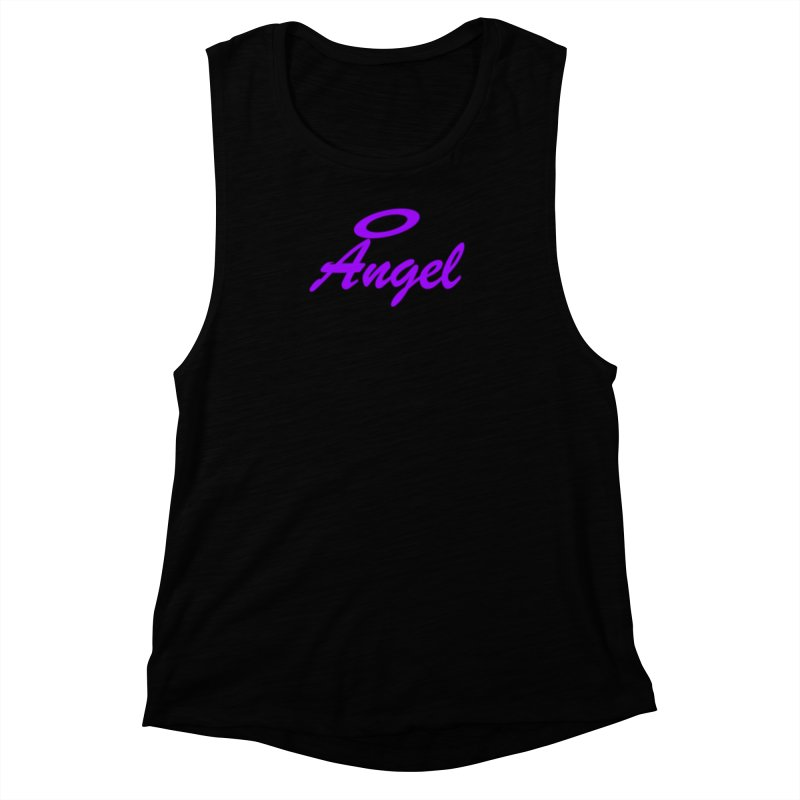 Angel Women's Muscle Tank by Magic Pixel's Artist Shop