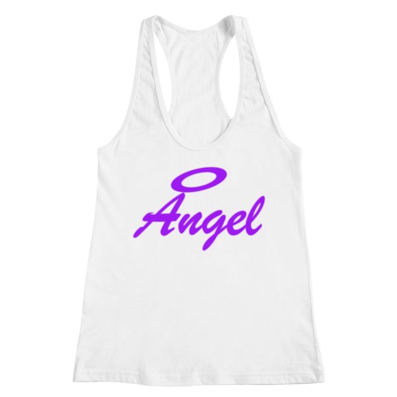 Angel Women's Racerback Tank by Magic Pixel's Artist Shop