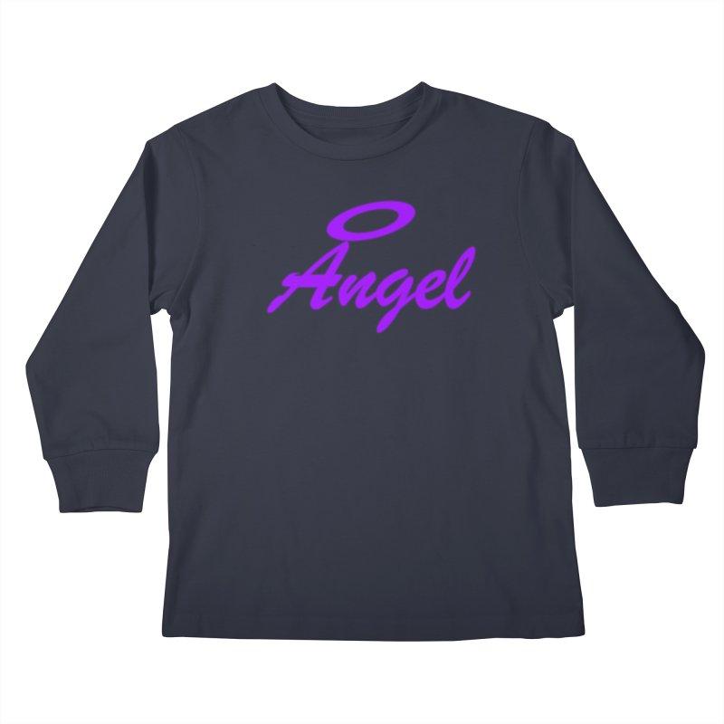 Angel Kids Longsleeve T-Shirt by Magic Pixel's Artist Shop