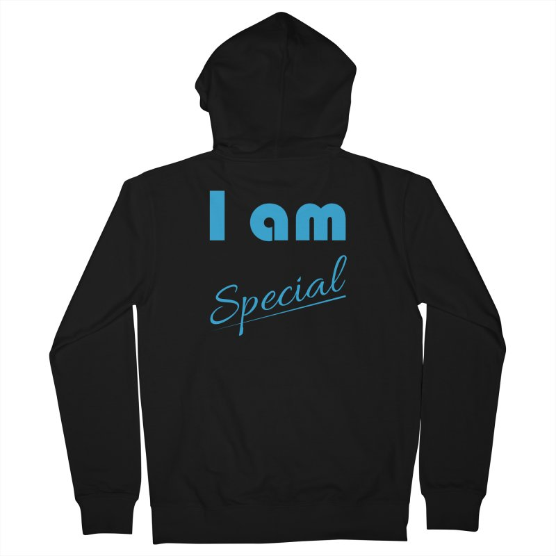 I am Special Women's French Terry Zip-Up Hoody by Magic Pixel's Artist Shop