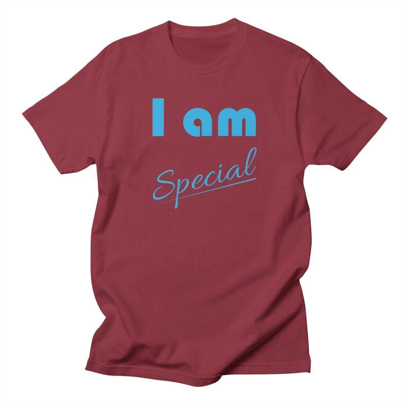 I am Special Women's Regular Unisex T-Shirt by Magic Pixel's Artist Shop