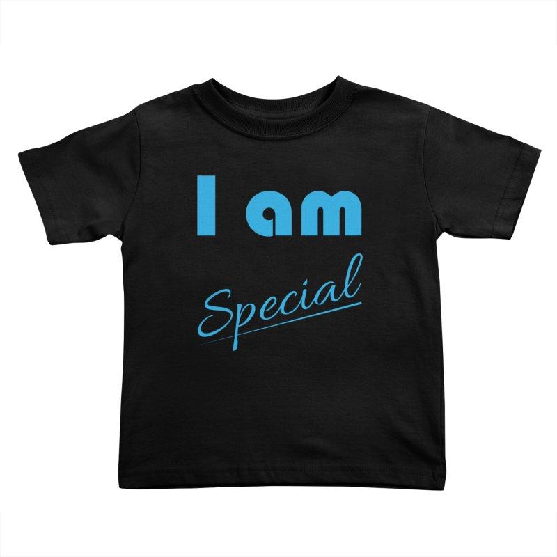 I am Special Kids Toddler T-Shirt by Magic Pixel's Artist Shop