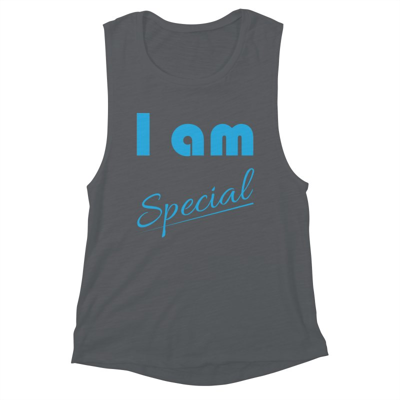 I am Special Women's Muscle Tank by Magic Pixel's Artist Shop