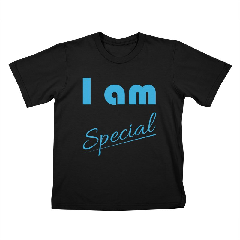 I am Special Kids T-Shirt by Magic Pixel's Artist Shop