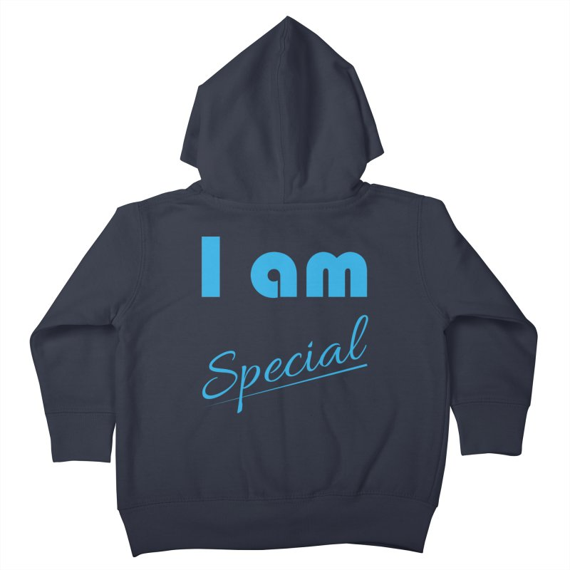 I am Special Kids Toddler Zip-Up Hoody by Magic Pixel's Artist Shop