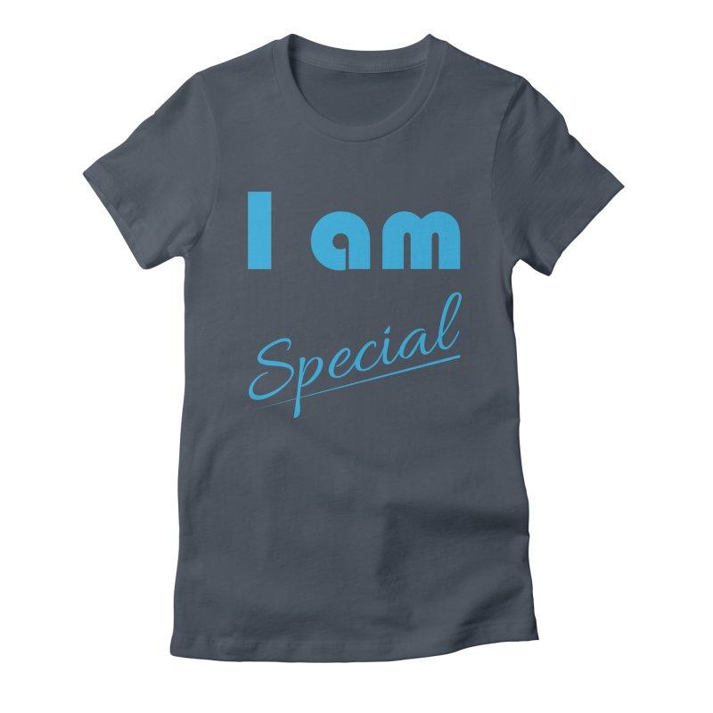I am Special Women's T-Shirt by Magic Pixel's Artist Shop