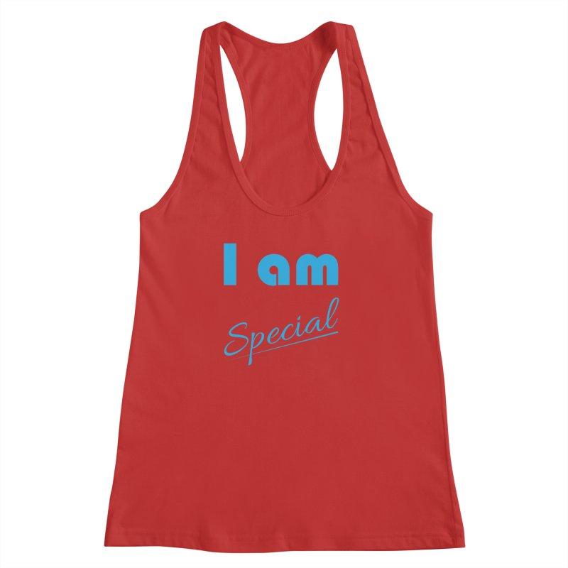 I am Special Women's Racerback Tank by Magic Pixel's Artist Shop