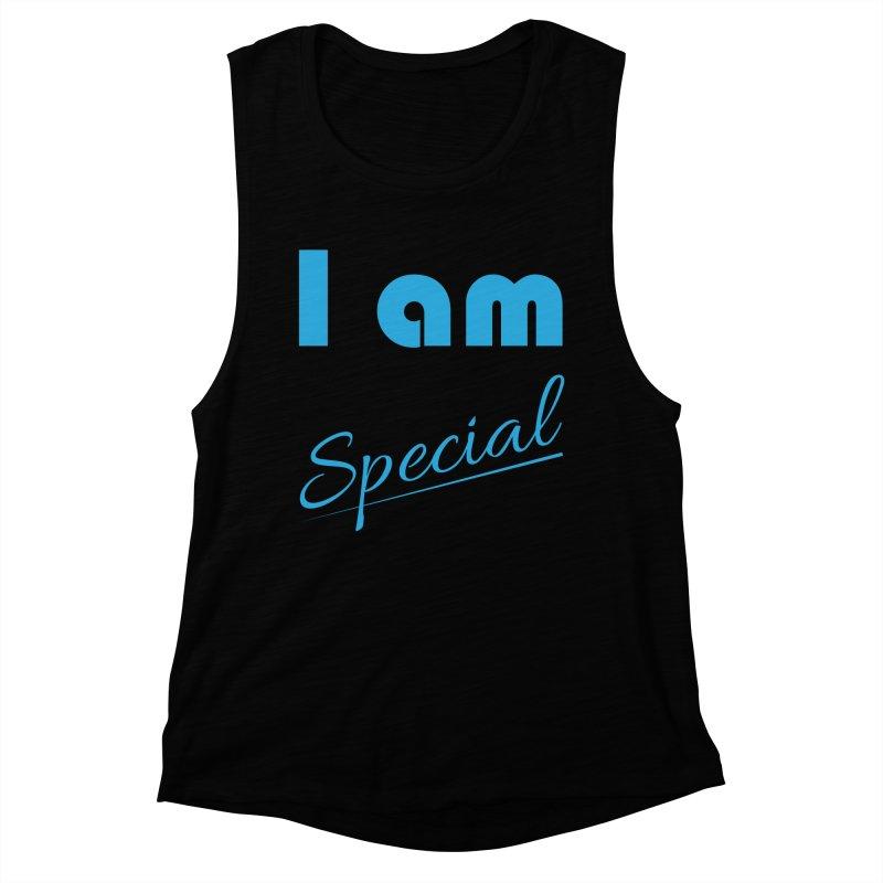 I am Special Women's Muscle Tank by Magic Pixel's Artist Shop