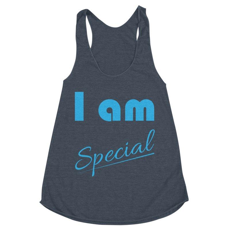 I am Special Women's Racerback Triblend Tank by Magic Pixel's Artist Shop