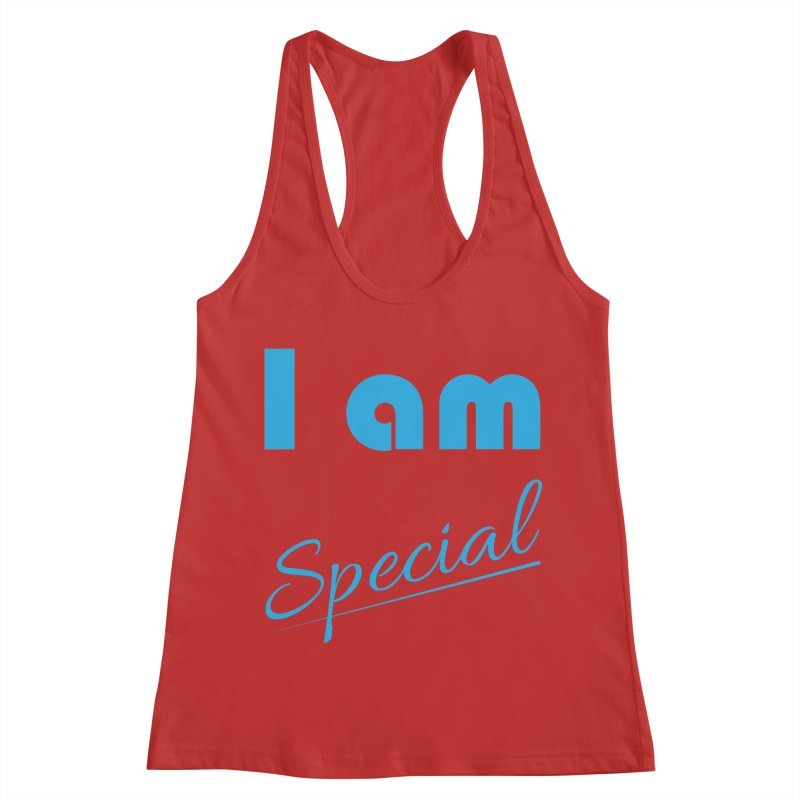 I am Special Women's Racerback Tank by Magic Pixel's Artist Shop