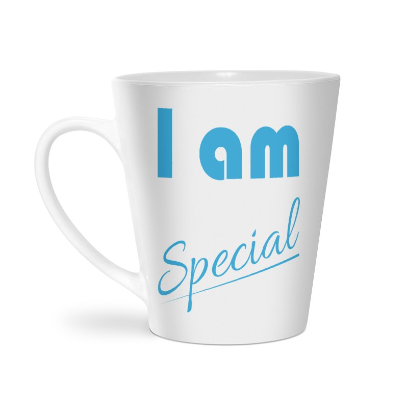 I am Special Accessories Latte Mug by Magic Pixel's Artist Shop