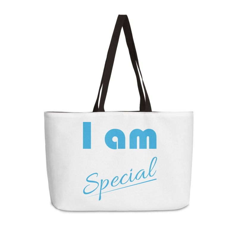I am Special Accessories Weekender Bag Bag by Magic Pixel's Artist Shop