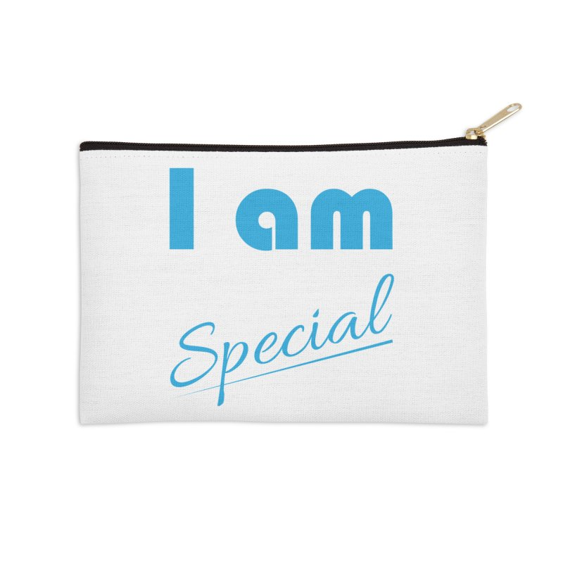 I am Special Accessories Zip Pouch by Magic Pixel's Artist Shop