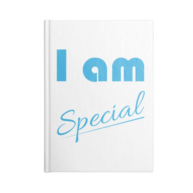 I am Special Accessories Lined Journal Notebook by Magic Pixel's Artist Shop