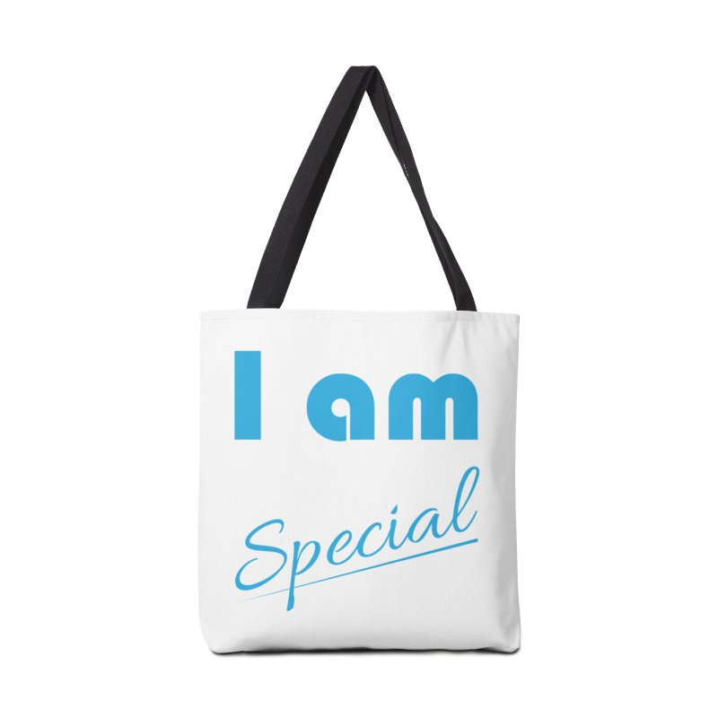 I am Special Accessories Tote Bag Bag by Magic Pixel's Artist Shop