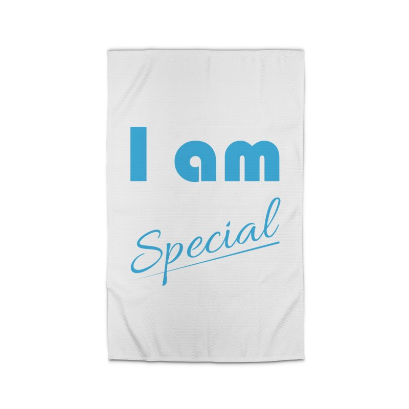 I am Special Home Rug by Magic Pixel's Artist Shop