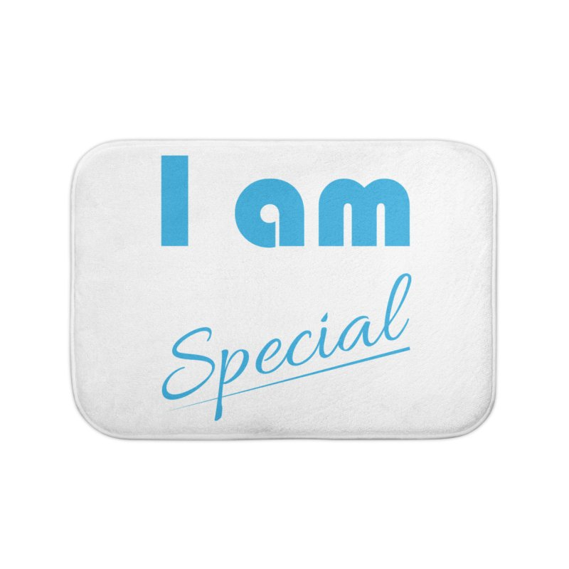 I am Special Home Bath Mat by Magic Pixel's Artist Shop