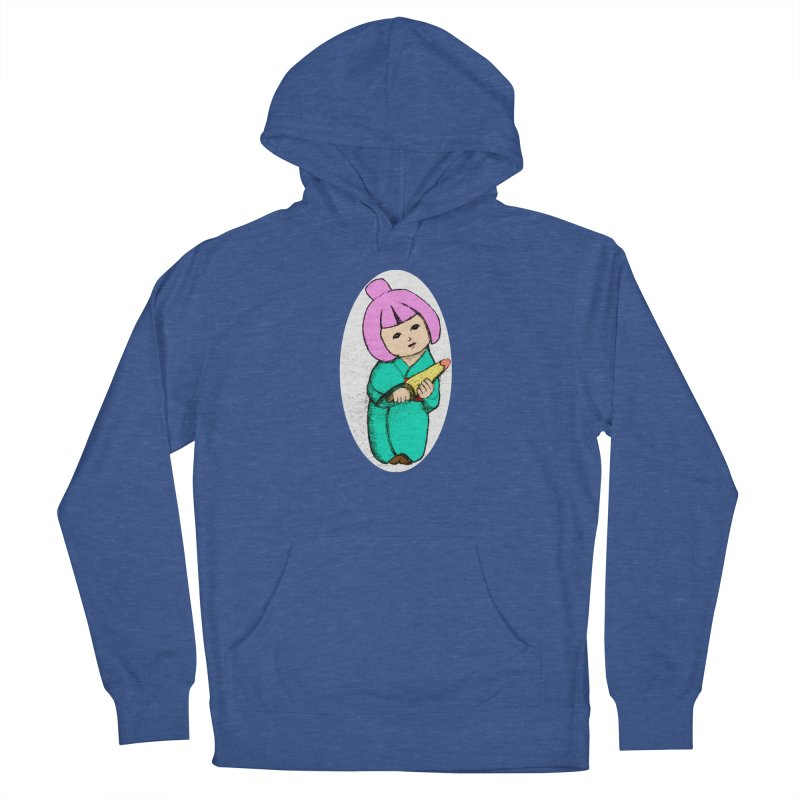 Cute Child Women's French Terry Pullover Hoody by Magic Pixel's Artist Shop