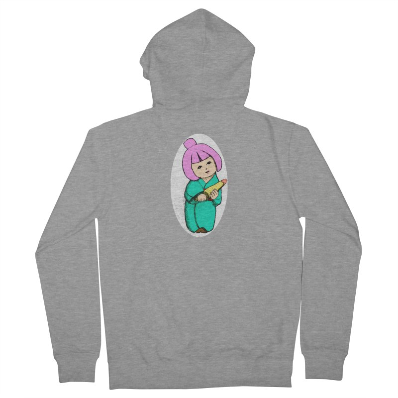 Cute Child Women's French Terry Zip-Up Hoody by Magic Pixel's Artist Shop