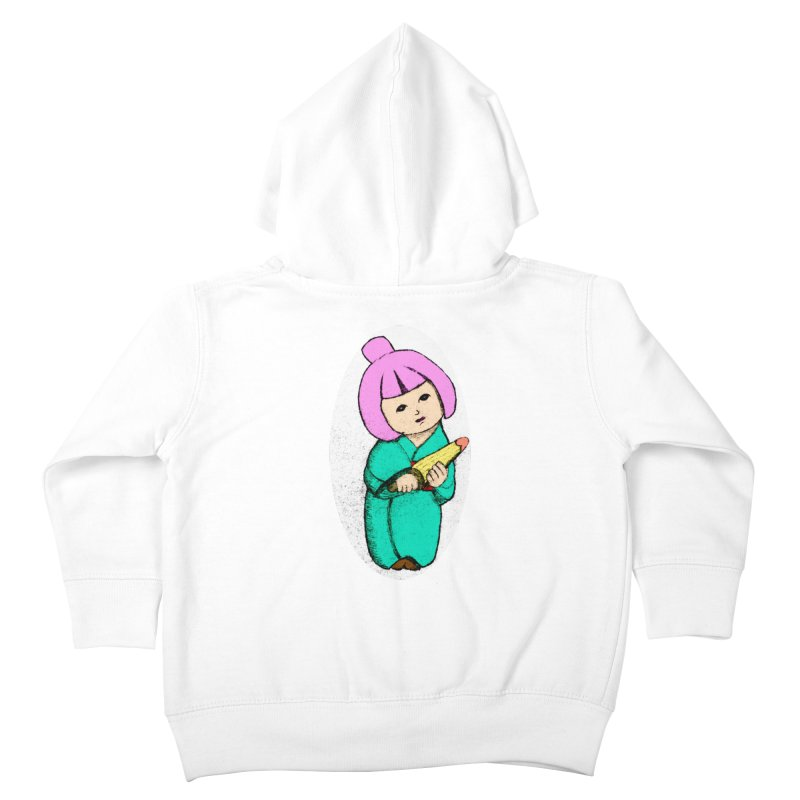 Cute Child Kids Toddler Zip-Up Hoody by Magic Pixel's Artist Shop