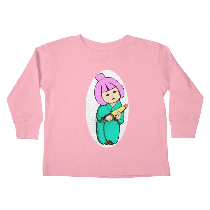 Cute Child Kids Toddler Longsleeve T-Shirt by Magic Pixel's Artist Shop