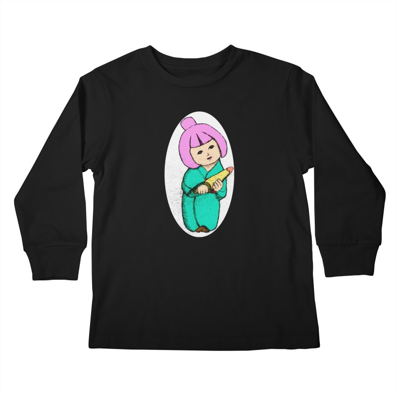 Cute Child Kids Longsleeve T-Shirt by Magic Pixel's Artist Shop