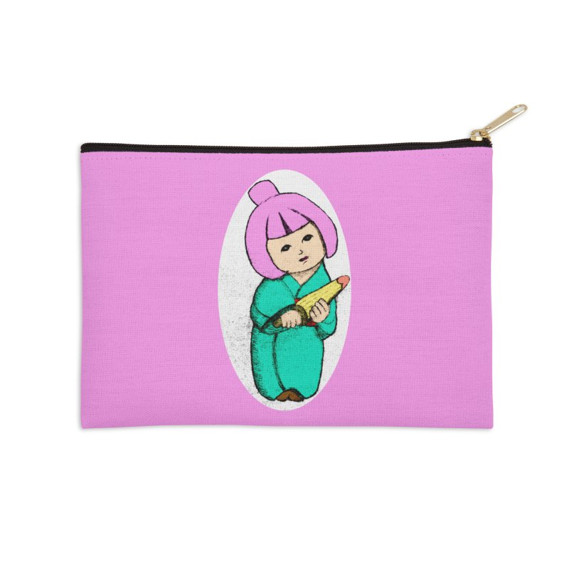 Cute Child Accessories Zip Pouch by Magic Pixel's Artist Shop
