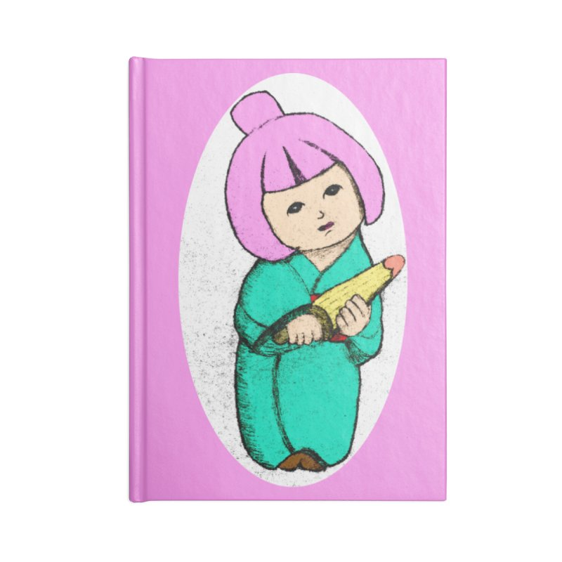Cute Child Accessories Lined Journal Notebook by Magic Pixel's Artist Shop