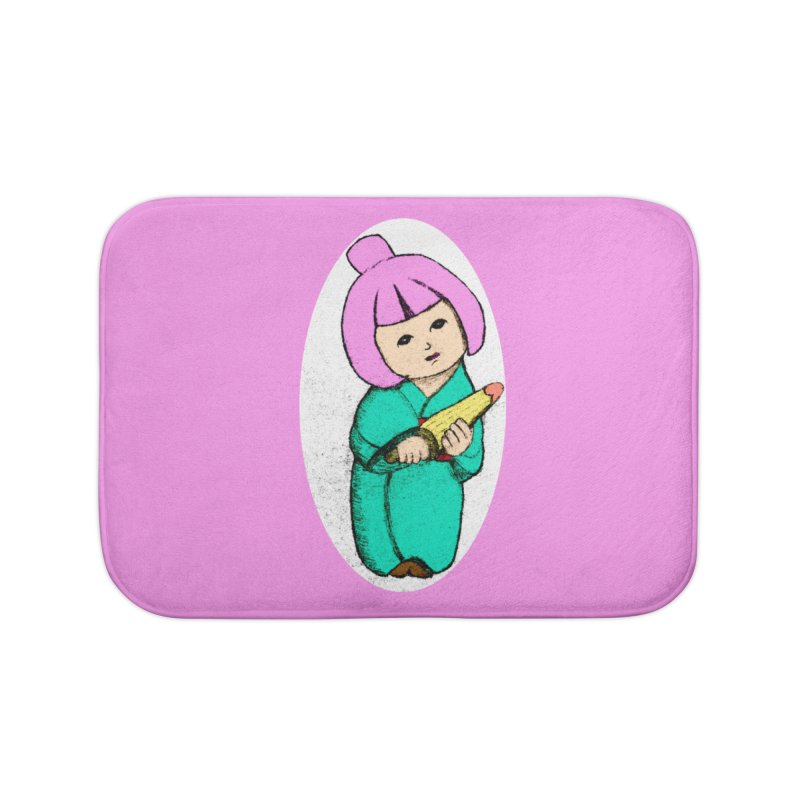 Cute Child Home Bath Mat by Magic Pixel's Artist Shop