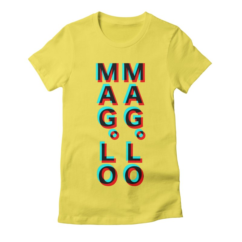 MAG.LO OverLoAd Shirt Women's Fitted T-Shirt by Mag.Lo //  Shirt Hub